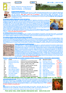 RIOSA Newsletter 2004-03-01