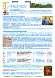 RIOSA Newsletter 2004.03.01