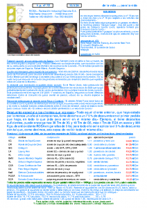 RIOSA Newsletter 2004-05-15