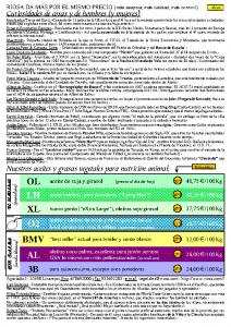 Информационный бюллетень RIOSA 2002-01-16