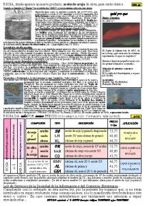 Информационный бюллетень RIOSA 2003-01-31