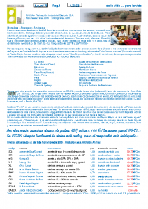 RIOSA Newsletter 2003-11-01