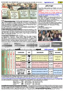 RIOSA Newsletter 2003-08-01