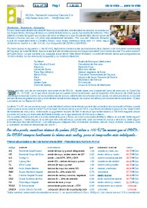 Newsletter RIOSA 2003-11-01