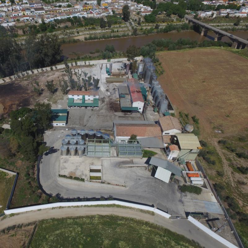 RIOSA planta vista aerea
